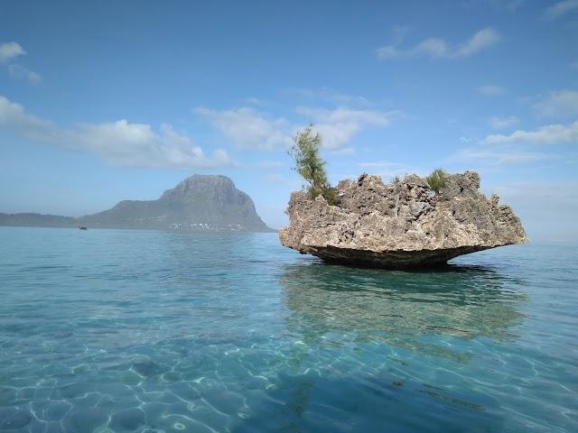 Crytal Rock, Ile aux Benitiers