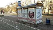 Автобусная остановка на фото Электростали