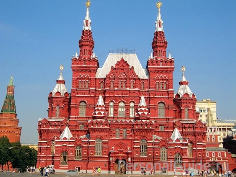 Фото Москва: Государственный исторический музей