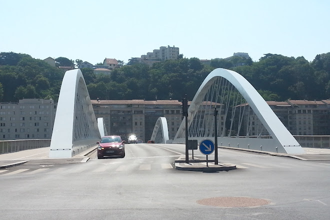 Pont Schuman, Lyon, France