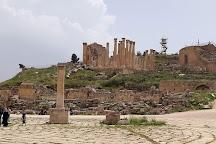 Oval Plaza, Jerash, Jordan