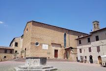 Church of Sant'Agostino, San Gimignano, Italy