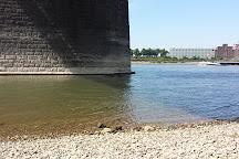 Krefeld-Uerdinger Brücke, Krefeld, Germany