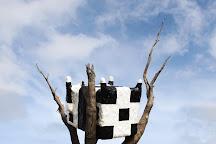 Cow Up a Tree Sculpture, Melbourne, Australia