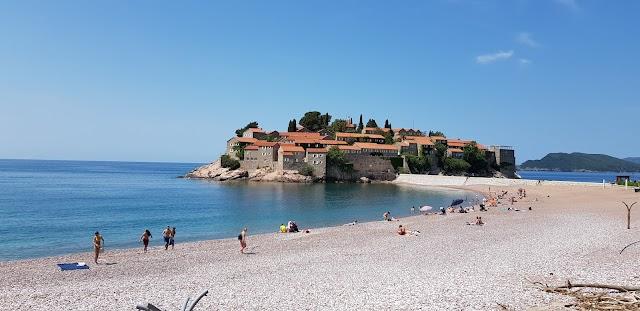 Beach Sveti Stefan