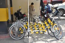 Green e-bike, Siem Reap, Cambodia