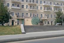 Nicola Tesla Monument, Baku, Azerbaijan