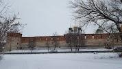 Казённая наугольная башня на фото Зарайска