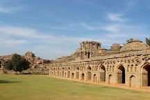 Elephant Stables, Hampi, India