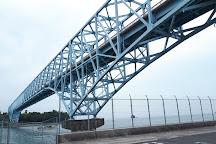 Kamagari Ohashi Bridge, Kure, Japan