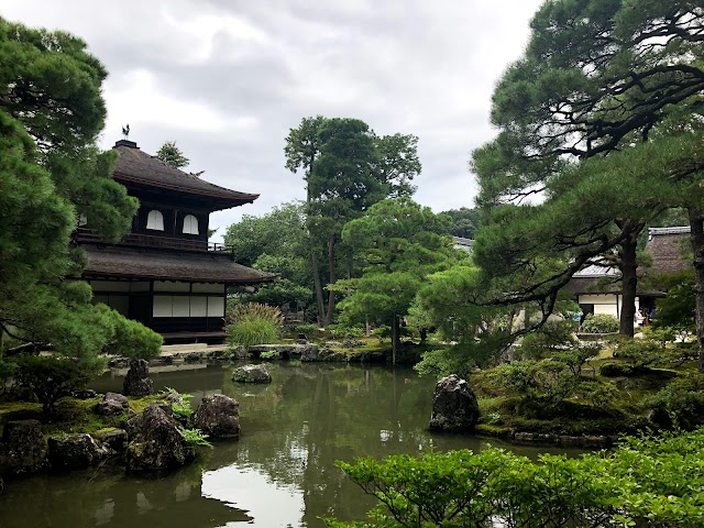 銀閣寺参道