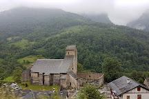Eglise de Sainte Engrace, Sainte-Engrace, France