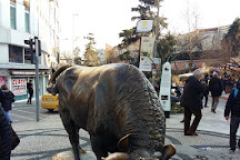 Kadikoy Bull Statue, Istanbul, Turkey