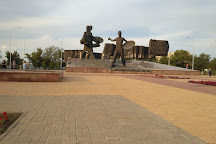 Monument to the Conquerors of Virgin Land, Kostanay, Kazakhstan