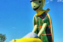 Tommy Turtle Statue, Bottineau, United States