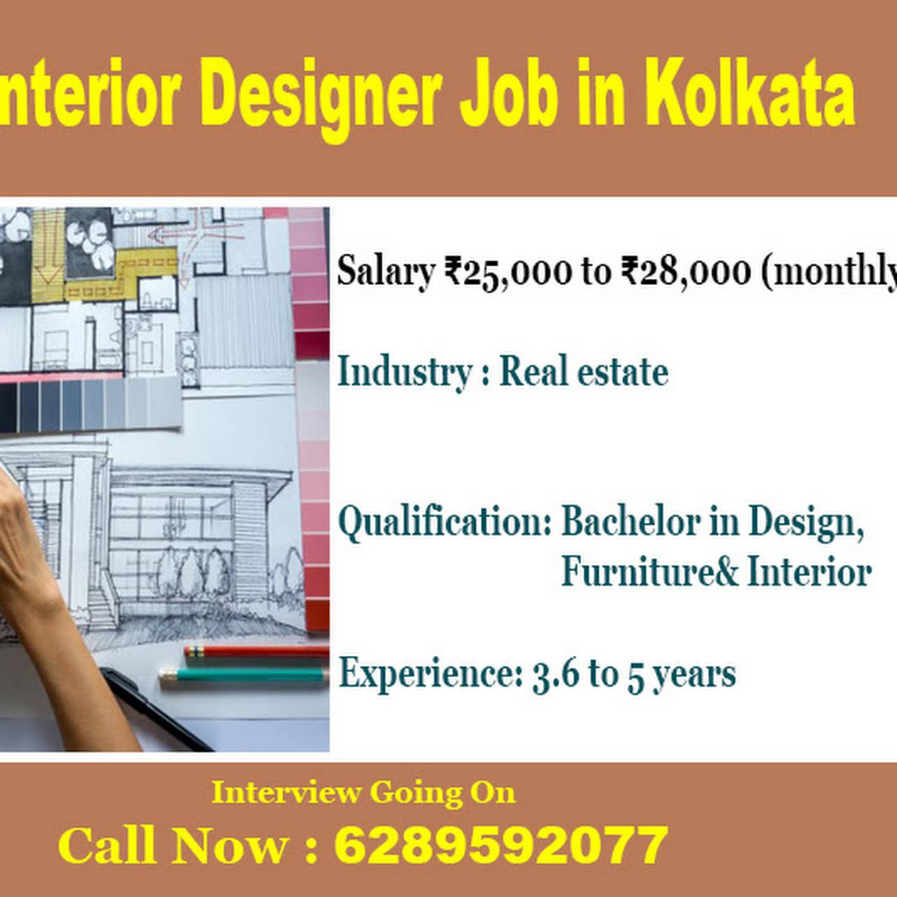 interior designer job in kolkata jobs