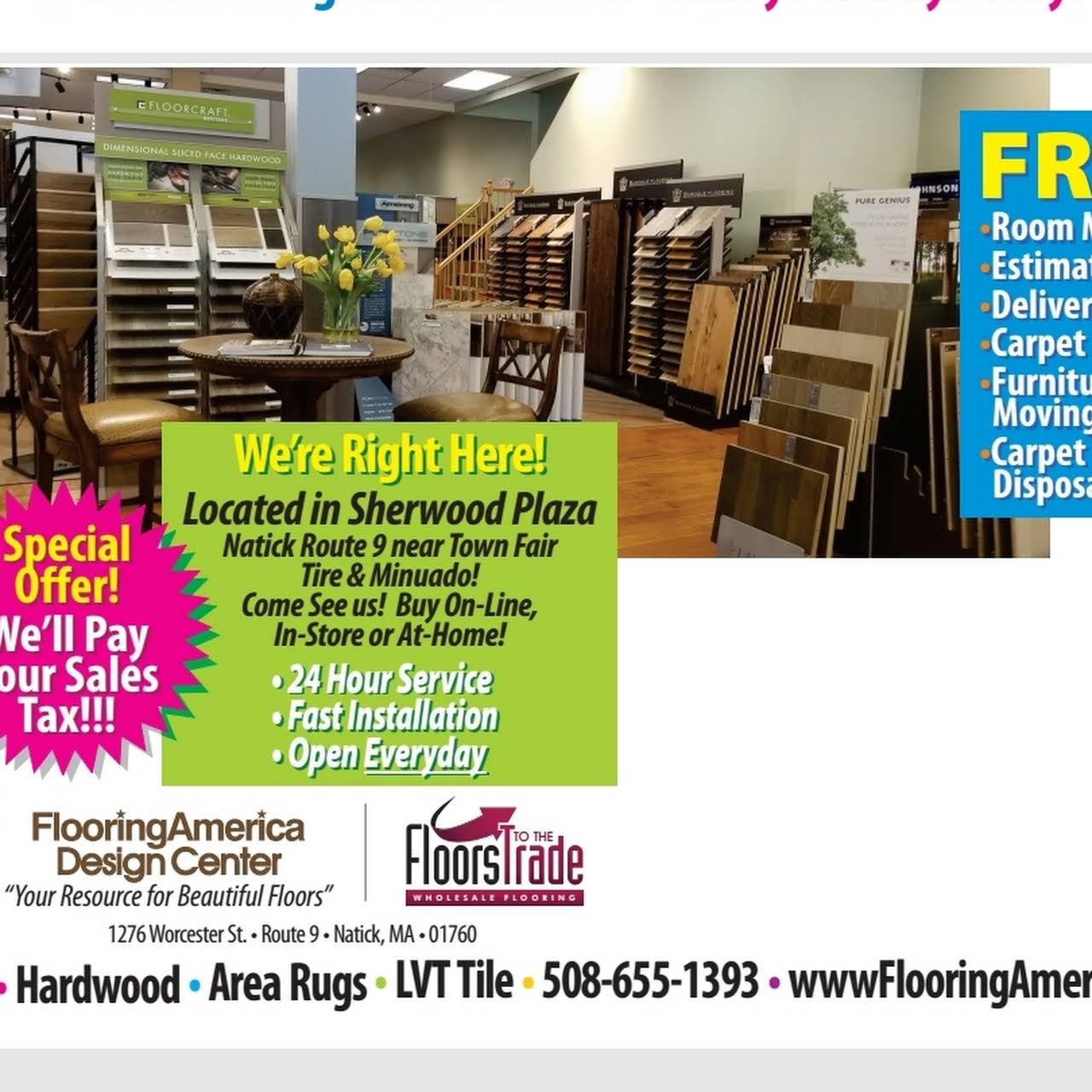 Flooring America Design Center - FLOORING SHOWROOM IN NATICK MA