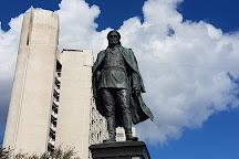 Monument to Yakov Diyachenko, Khabarovsk, Russia
