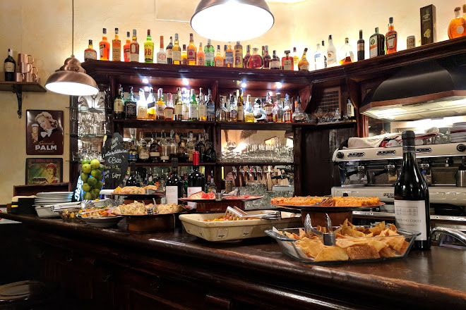 Antico Caffe' del Moro - TIME to Drink, Rome, Italy