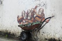 Orang Utan Murals, Kuching, Malaysia