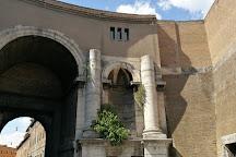 Porta Santo Spirito, Rome, Italy