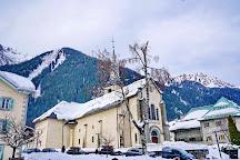 Eglise Saint Michel, Chamonix, France
