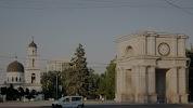Триумфальная Арка на фото Кишинёва