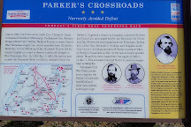 Parkers Crossroads Battlefield Tour, Parkers Crossroads, United States