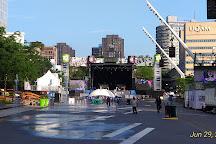 Quartier des spectacles, Montreal, Canada