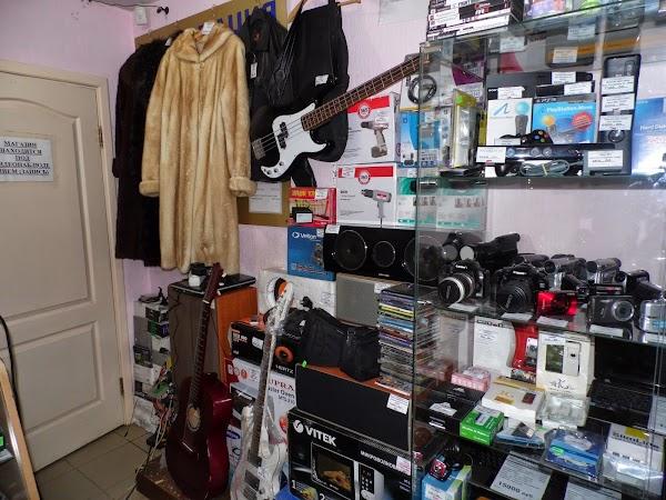 Сдать фотоаппарат в комиссионный магазин