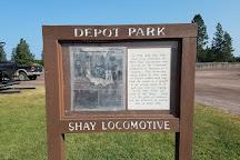 Depot Park, Columbia Falls, United States