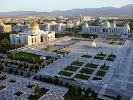 Республиканская библиотека на фото Ашхабада