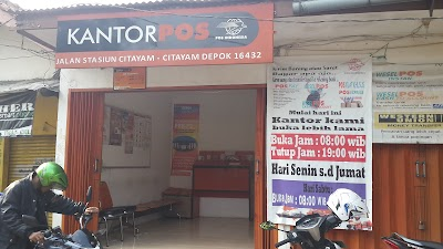 Kantor Pos Stasiun Citayam Jawa Barat 62 857 1442 6039