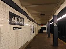 46 St new-york-city USA