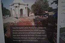 Thomas Parr Monument, Bengkulu, Indonesia