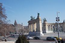 Millenium Monument Budapest, Budapest, Hungary