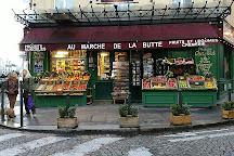 Square Jehan Rictus, Paris, France