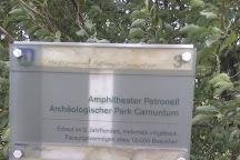 Das Amphitheater, Petronell-Carnuntum, Austria