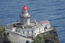 Farol Ponta do Arnel, Nordeste, Portugal
