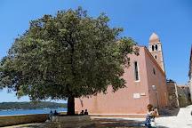 Church of St. Justina, Rab Island, Croatia