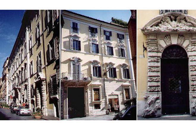 Palazzo Boncompagni Corcos, Rome, Italy