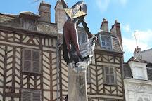 Cadet Rousselle Statue, Auxerre, France