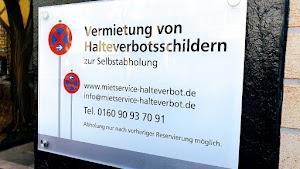 Halteverbotsschilder mieten Düsseldorf