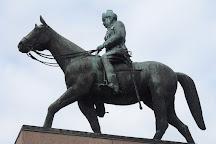 Mannerheim Statue, Helsinki, Finland