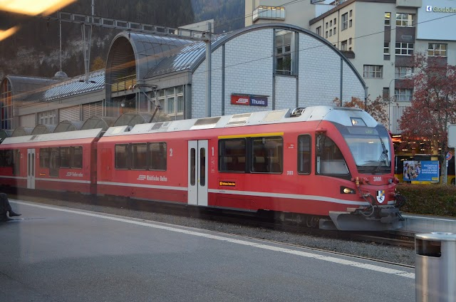 Thusis, Bahnhof