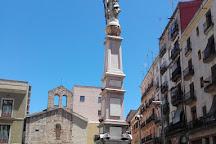 Monumento a Santa Eulalia, Barcelona, Spain