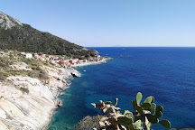 Spiaggia del Relitto, Pomonte, Italy