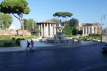 Fontana Lungotevere Aventino, Rome, Italy