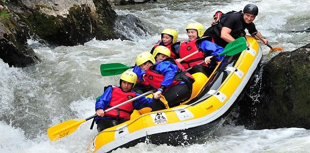 Eaurizon Centre Eau Vive Rafting Hydrospeed Canoraft