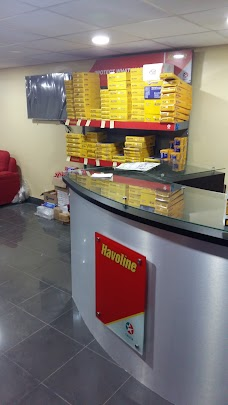 Havoline Oil Change, Chinar Lube Blue Area
